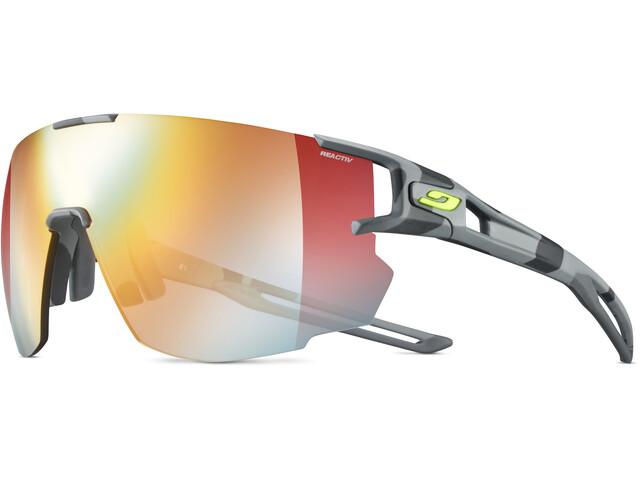 Julbo Aerospeed Segment Light Red Okulary przeciwsłoneczne, szary/żółty
